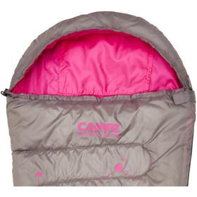 CAMPZ Astro Kids - Sac de couchage Enfant - gris/rose